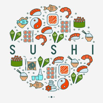 日本食品概念圈