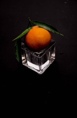 Mandarin glass fruit