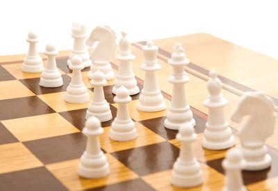 国际象棋棋盘上