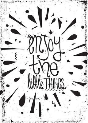 简单老式的励志海报,涂鸦,grunge 的影响