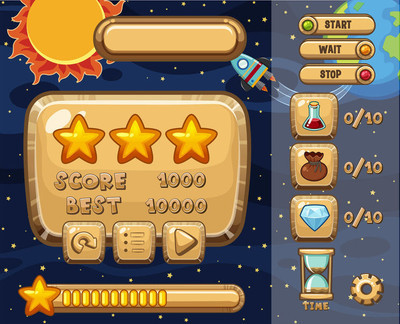 游戏设计与太阳系主题