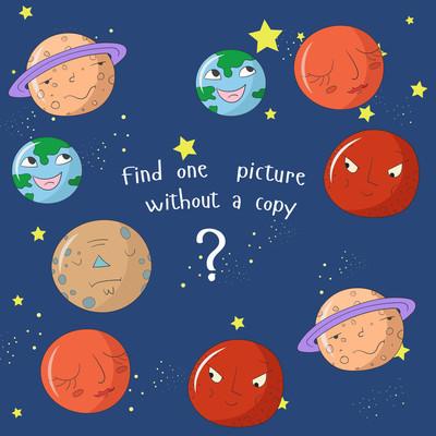 教育游戏是找到一张图片没有副本
