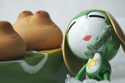 小青蛙,啦啦啦~