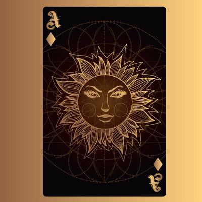钻石王牌, 纸牌与原创设计