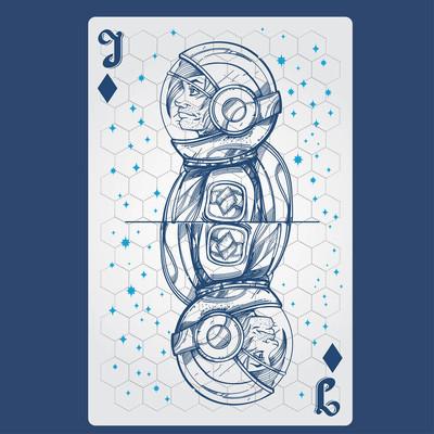钻石插孔, 纸牌与原创设计