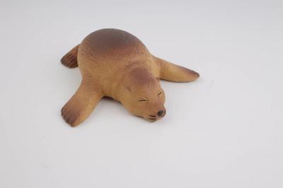 塑料的海狮,玩具与图