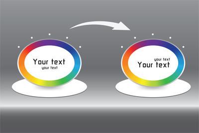 颜色信息图形