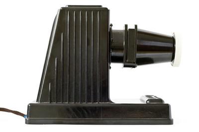 旧的老式投影仪