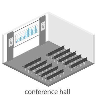 Business presentation meeting in conference hall