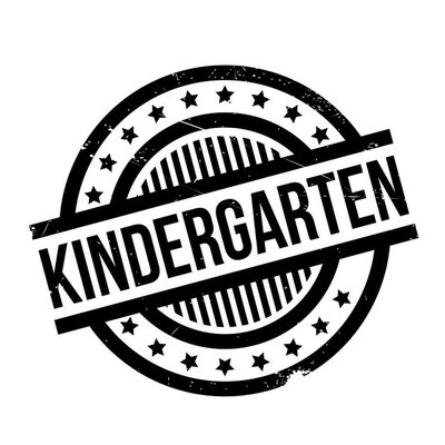 幼儿园的橡皮戳