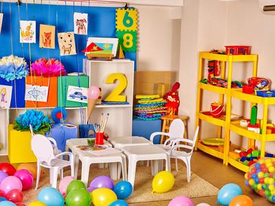 幼儿园的内部