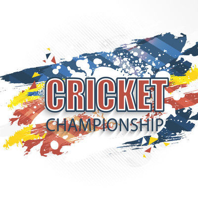 Poster, Banner or Flyer for Cricket Championship.