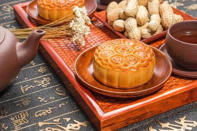 中国的中秋节月饼