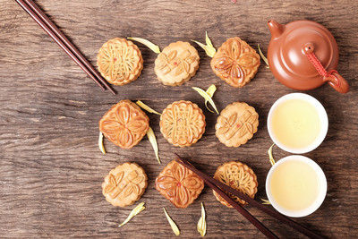 月饼为中秋节节日的